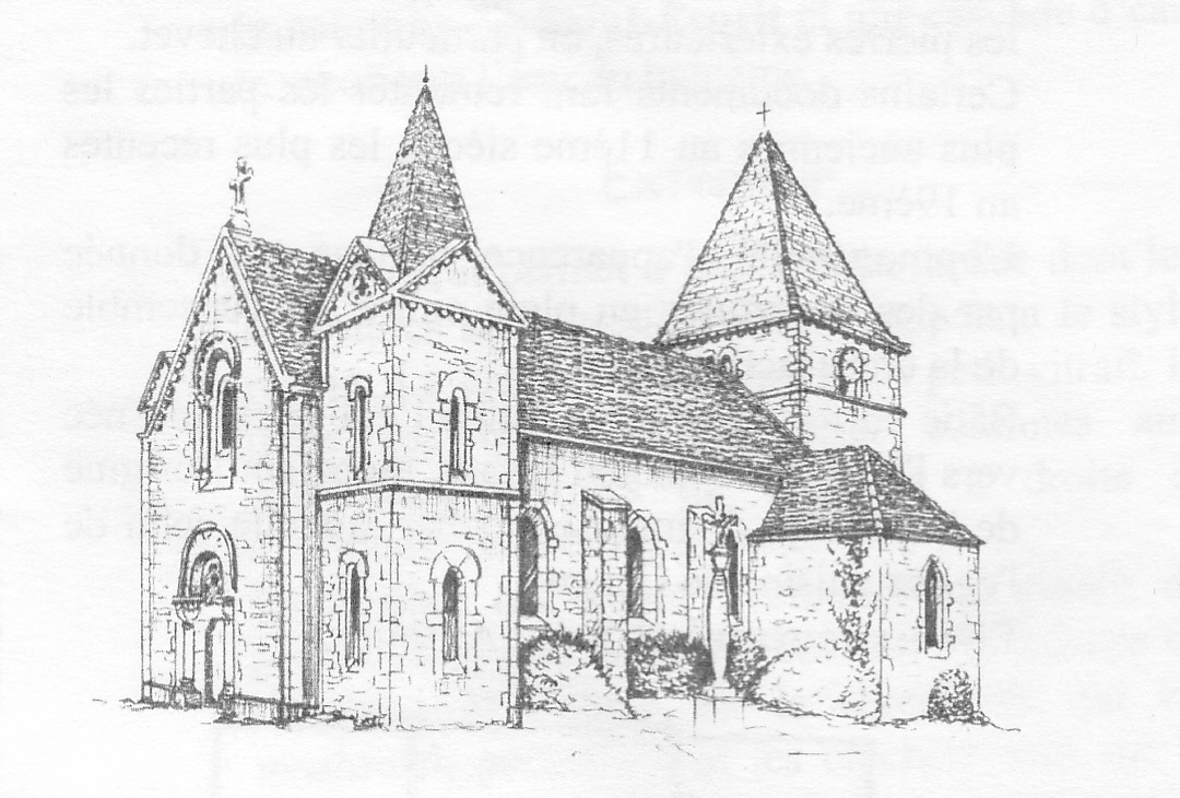Site officiel de remigny l 39 glise de remigny - Coloriage eglise ...
