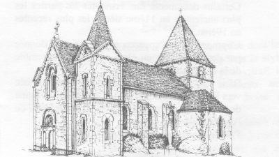 L'église de Remigny